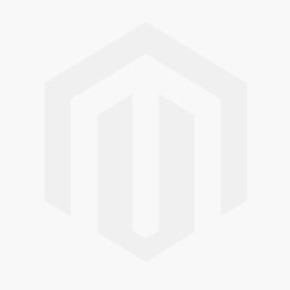 Red Ribbed Puffer Gilet With Black Fur Hood