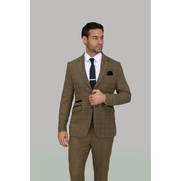 Cavani Ascari Tweed Blazer
