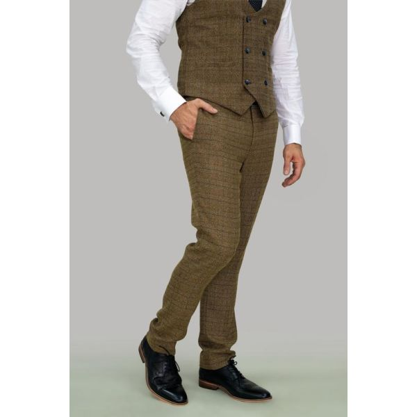 Cavani Ascari Tweed Trousers