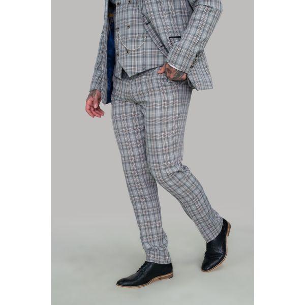 Cavani Callie Grey Trousers