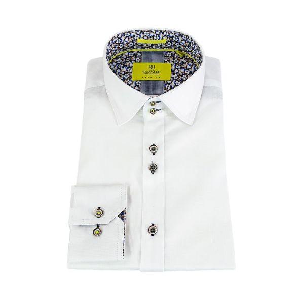 Cavani AXL White Premium Cotton Shirt