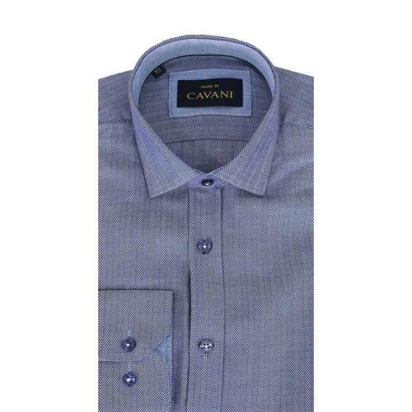 Cavani No.600 Ink Navy Shirt