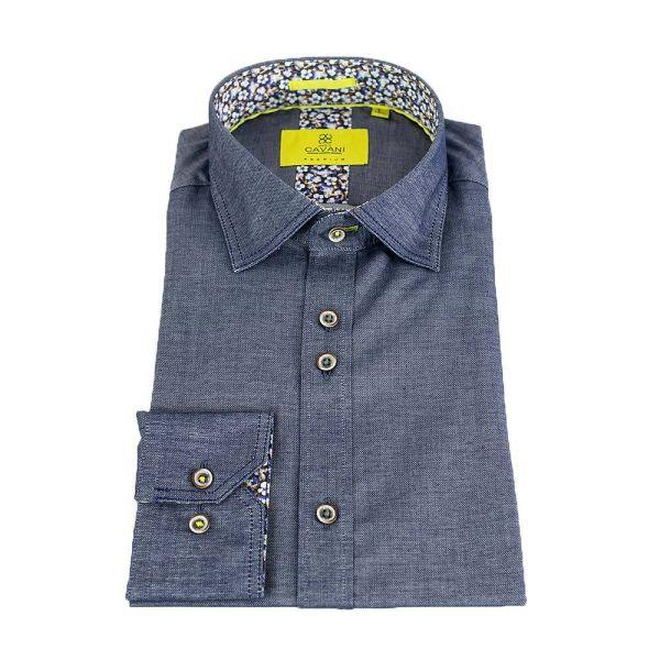 Cavani Hudson Blue Premium Shirt