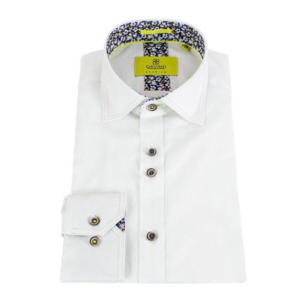 Cavani Hudson White Premium Shirt