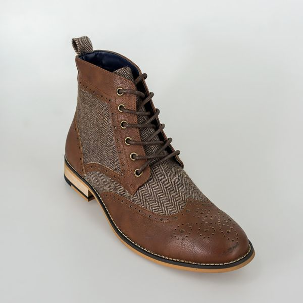 Cavani Sherlock Brown Boots