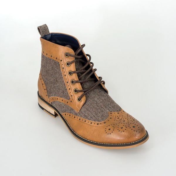 Cavani Sherlock Tan Boots