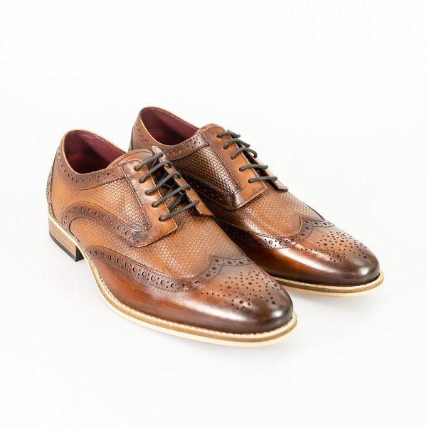 Cavani Tommy Brown Signature Shoes