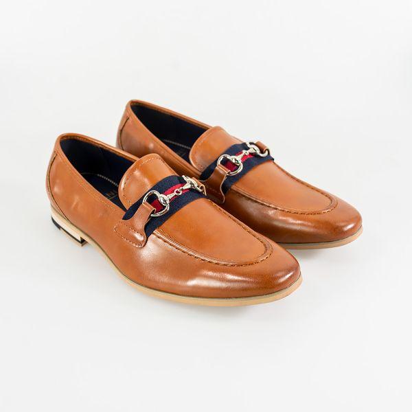 Cavani Yale Tan Shoes