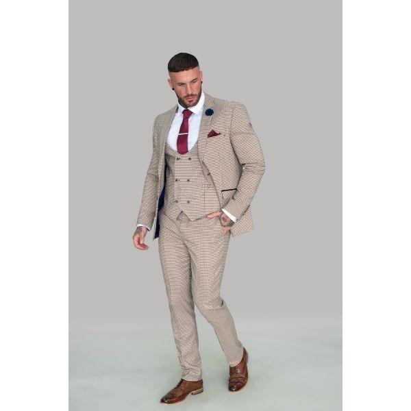 Cavani Elwood Houndstooth Suit