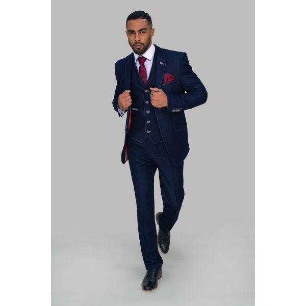 Cavani Fabian Navy Suit
