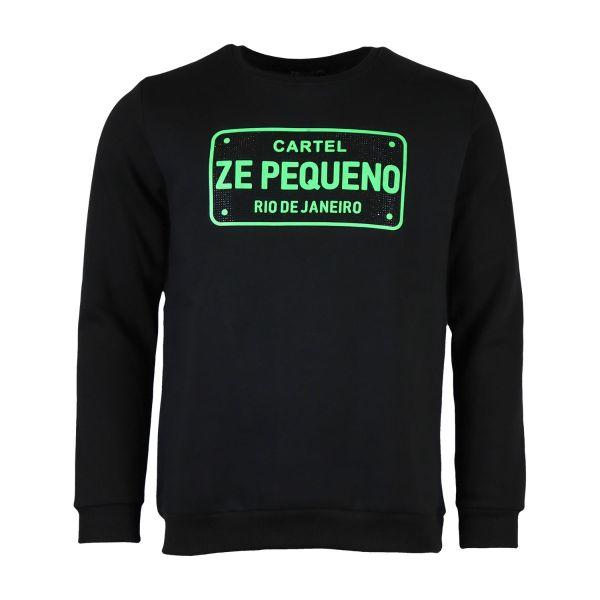 Black Cartel 'Ze Pequeno' Printed Sweatshirt