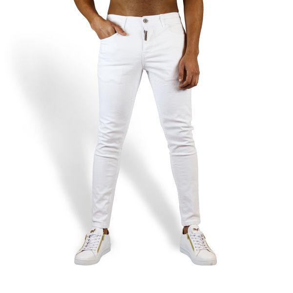 White Plain Jeans