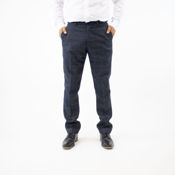 Marc Darcy Luca Navy Trousers