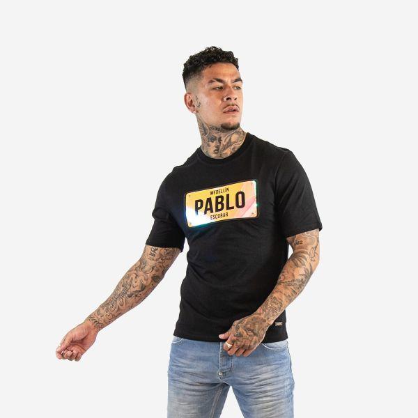 Black Pablo Orange Holographic T-Shirt