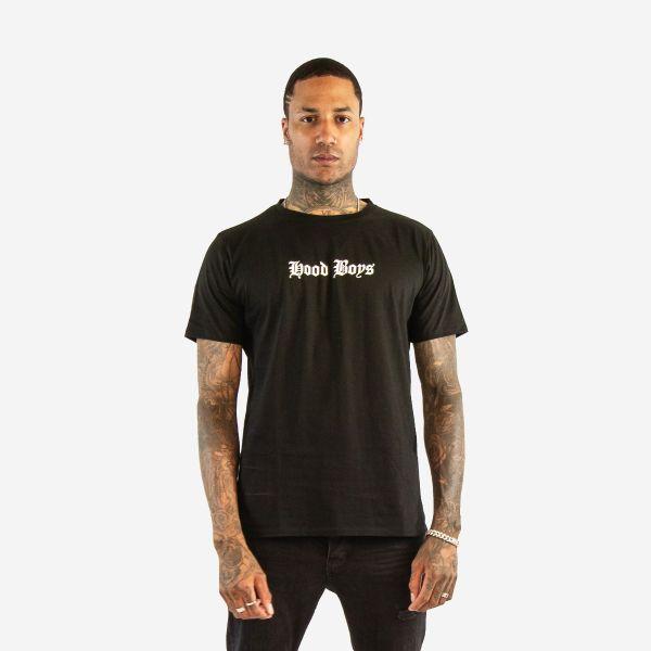 2-Pac Hood Boys Black T-Shirt