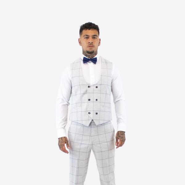 Cavani Radika Light Grey Waistcoat