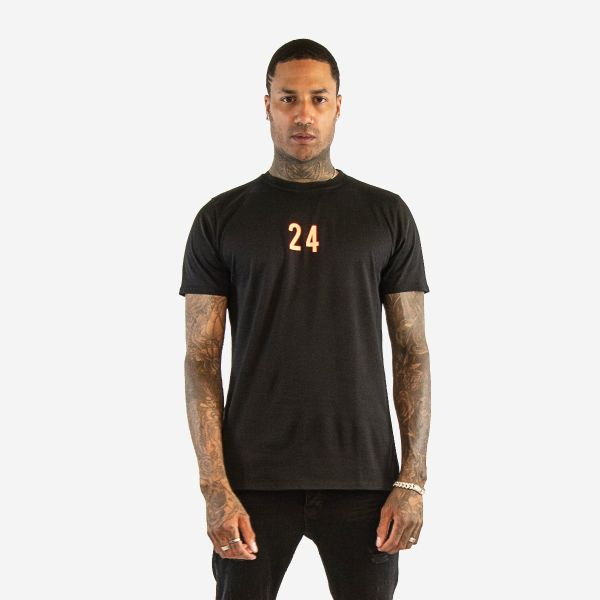 """24 Black Mamba"" Black T-Shirt"