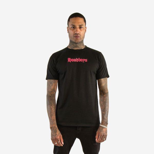 Black & Pink Hoodboys T Shirt