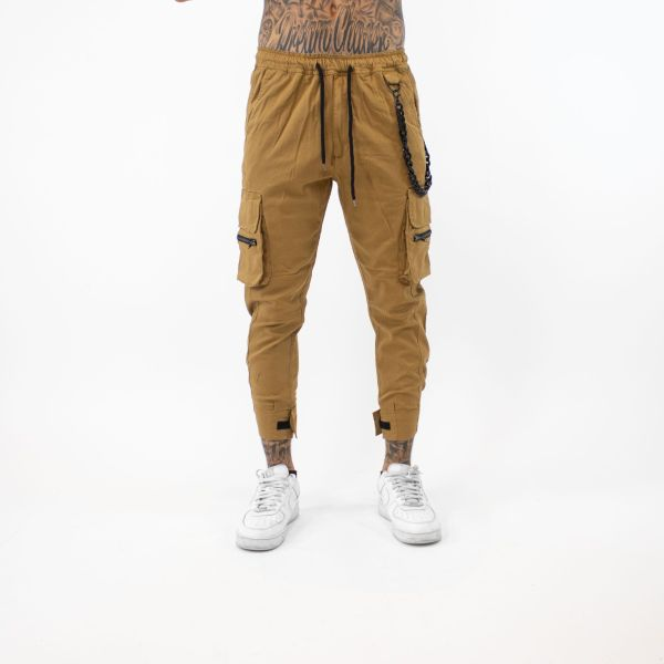 Camel Cropped Combat Joggers