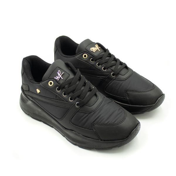 Cash Money Vern All Black Inspired Trainers