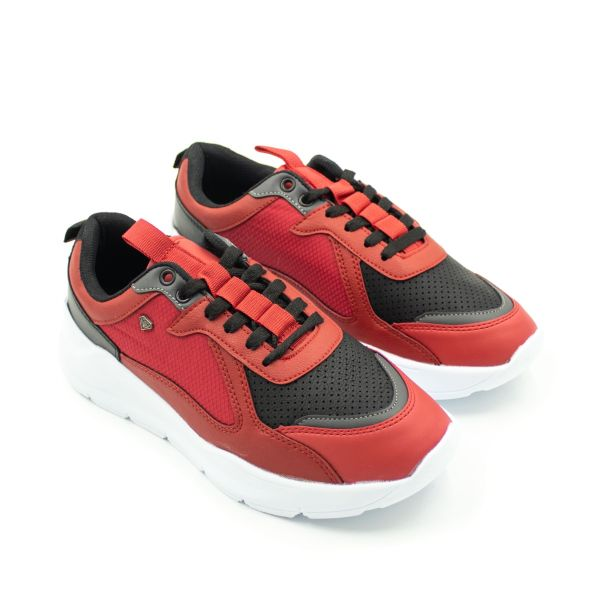Cash Money Red & Black Inspired Trainers