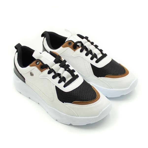 Cash Money White & Camel Inspired Trainers