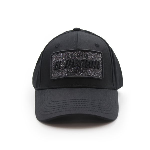 Black With Black Embroidering Colombia EL PATRON Inspired Cap
