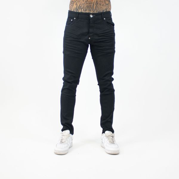 Dark Green Plain Skinny Jeans