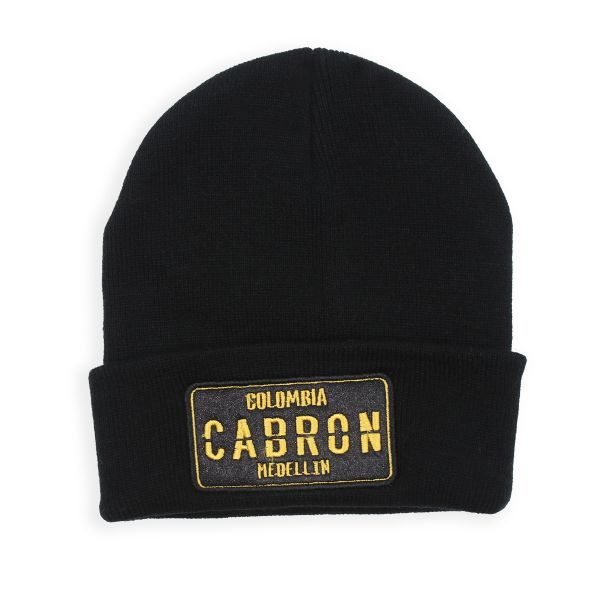 Black Colombia CARBON Beanie Hat