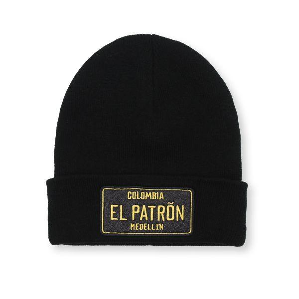 Black Colombia EL PATRON Beanie Hat