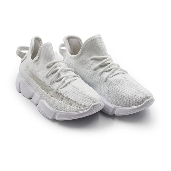 All White Inspired Trainers