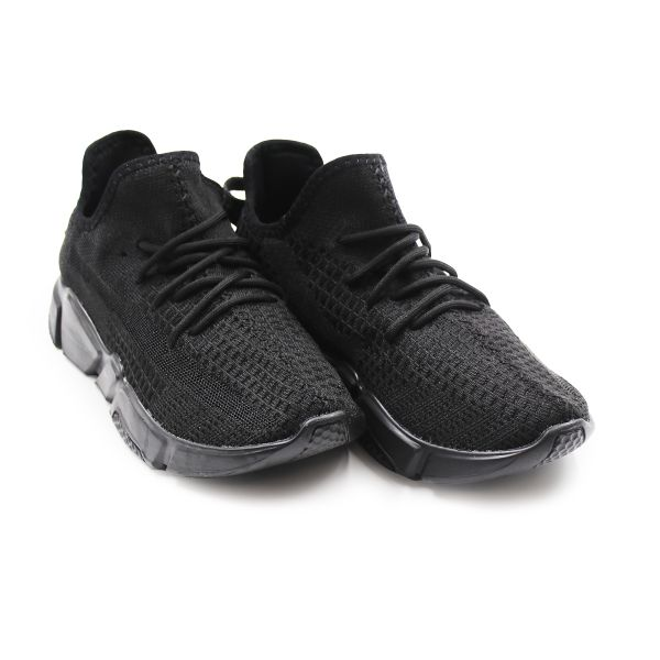 All Black Scar Trainers