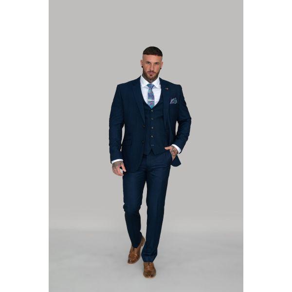 Cavani Seeba Navy Suit