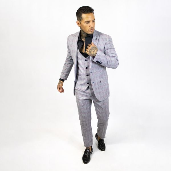 Marc Darcy Alvin Grey Suit